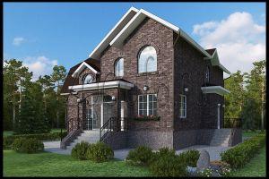 Необычный проект дома 224м2