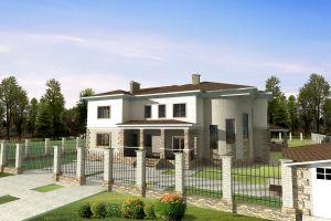 Дом с бассейном п.Нагаево