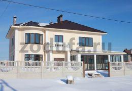 Дом в п. Акбердино 280 м2