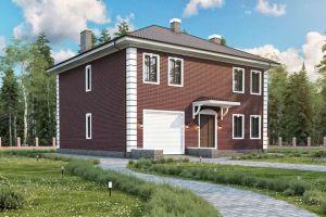 Проект дома 220 м2