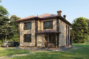 Проект двухэтажного дома 180м2