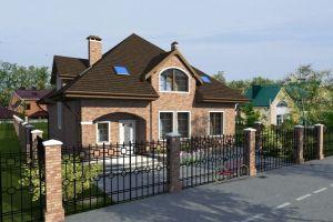 Дом со сложной крышей 192 м2