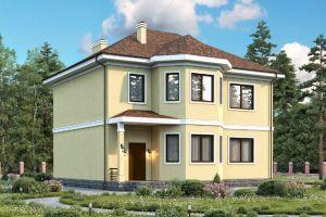 Проект двухэтажного дома 185 м2