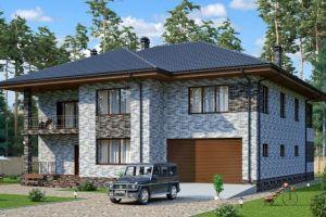 Проект дома 382 м2