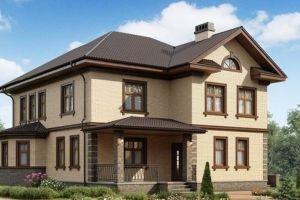 Двухэтажный дом 243 м2