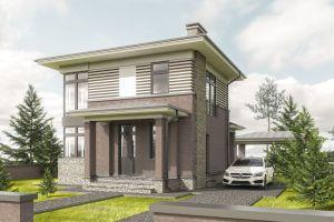 Маленький дом 80 кв2