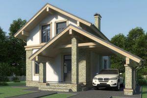 Маленький дом 100 м2