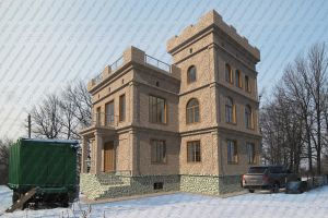 Замок в д.Алкино