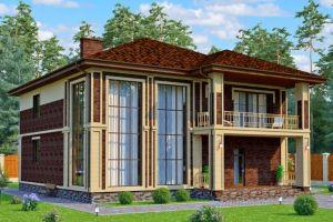 Проект дома 251 м2
