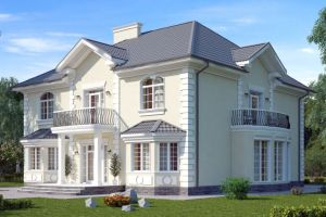 Проект дома 498 м2