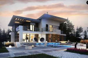 Проект дома 278 м2