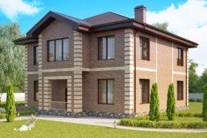 Проект дома 320 м2
