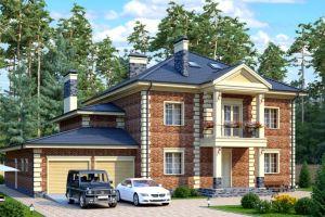 Проект дома 452 м2