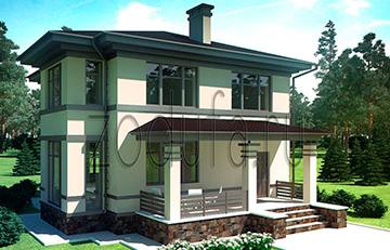 Проект дома Альмак 130м2