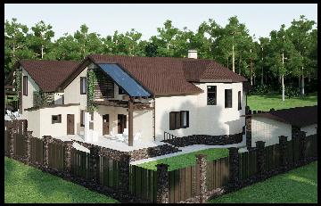 Дизайн-проект дома в Карпово